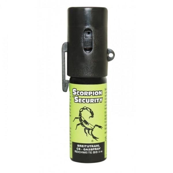 CS Scorpion Gasspray 15 ml mit Gürtelclip